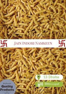 Jain Indorie Namkeens @13 Dhaba Hyderabad