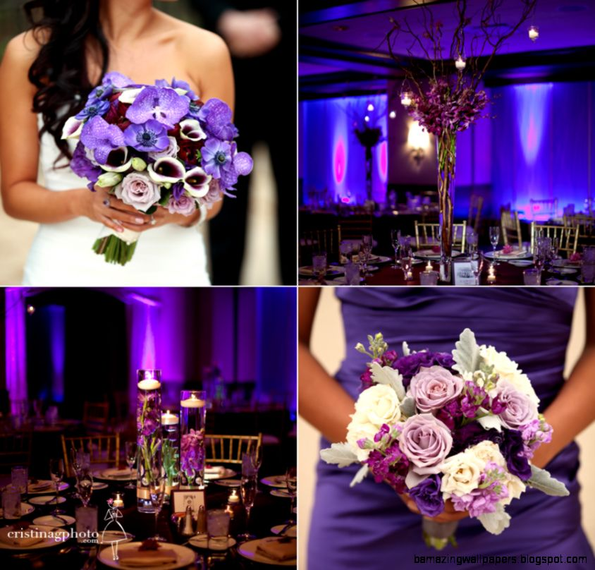 Fall Wedding Purple Wedding Trend 2012 Photo Chick Blog  I WALL FREE