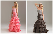 prom dresses. While long, flowing dresses are still the preferred style for .