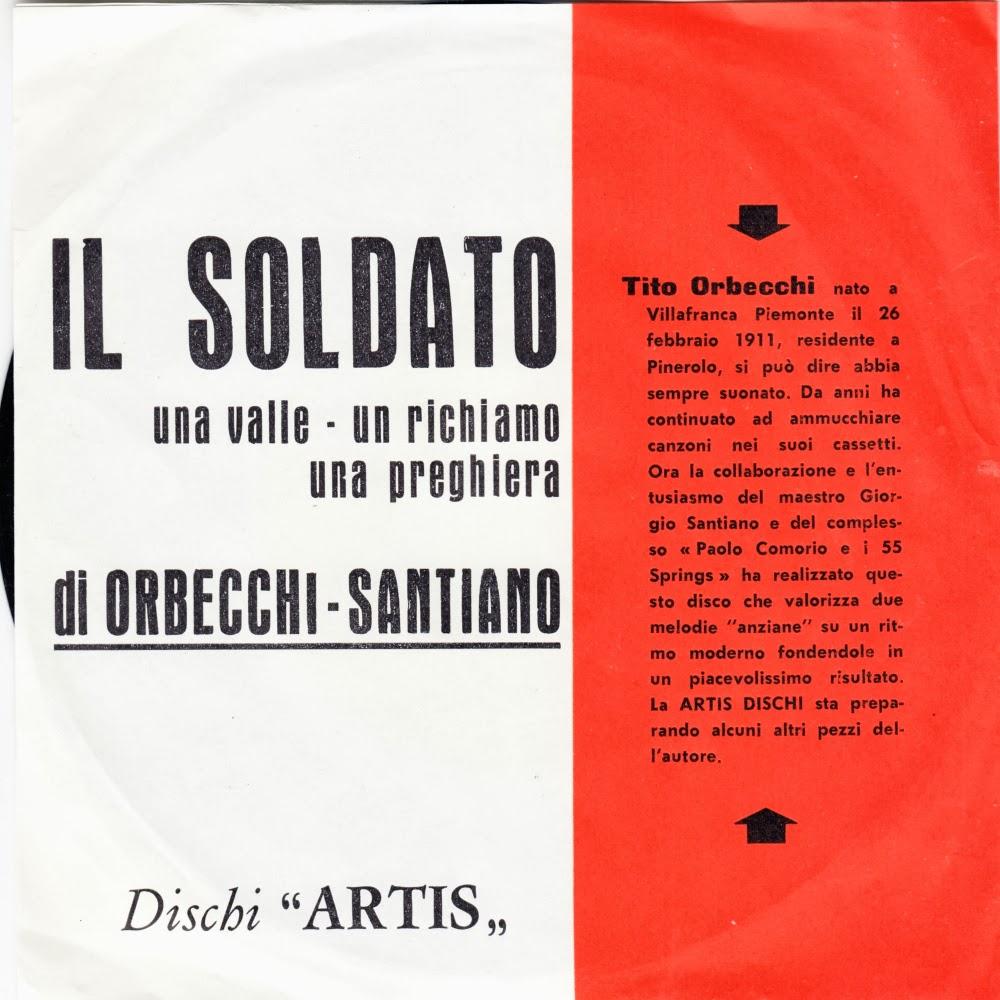 Paolo Comorio - Una Valle - Un Richiamo - Una Preghiera / Il Soldato
