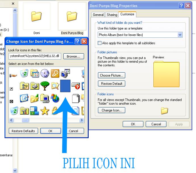 Cara Menyembunyikan Folder