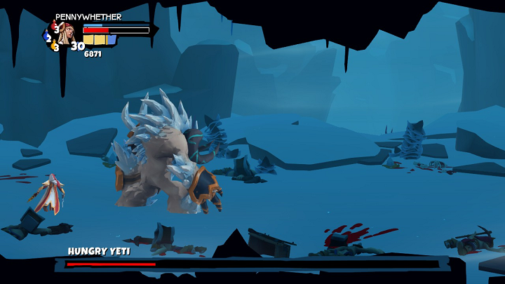 Hungry Yeti boss fight in Sacred Citadel
