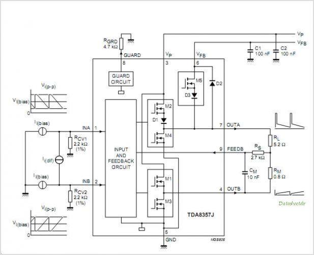 hobby tehknis elektronika  circuits  pinout vertikal   la7837  32  33  78040  41  45  stv9325  tda8357j