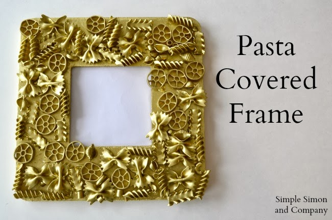 DIY Gold Frames (that kids of all ages like to make) - Simple Simon ...