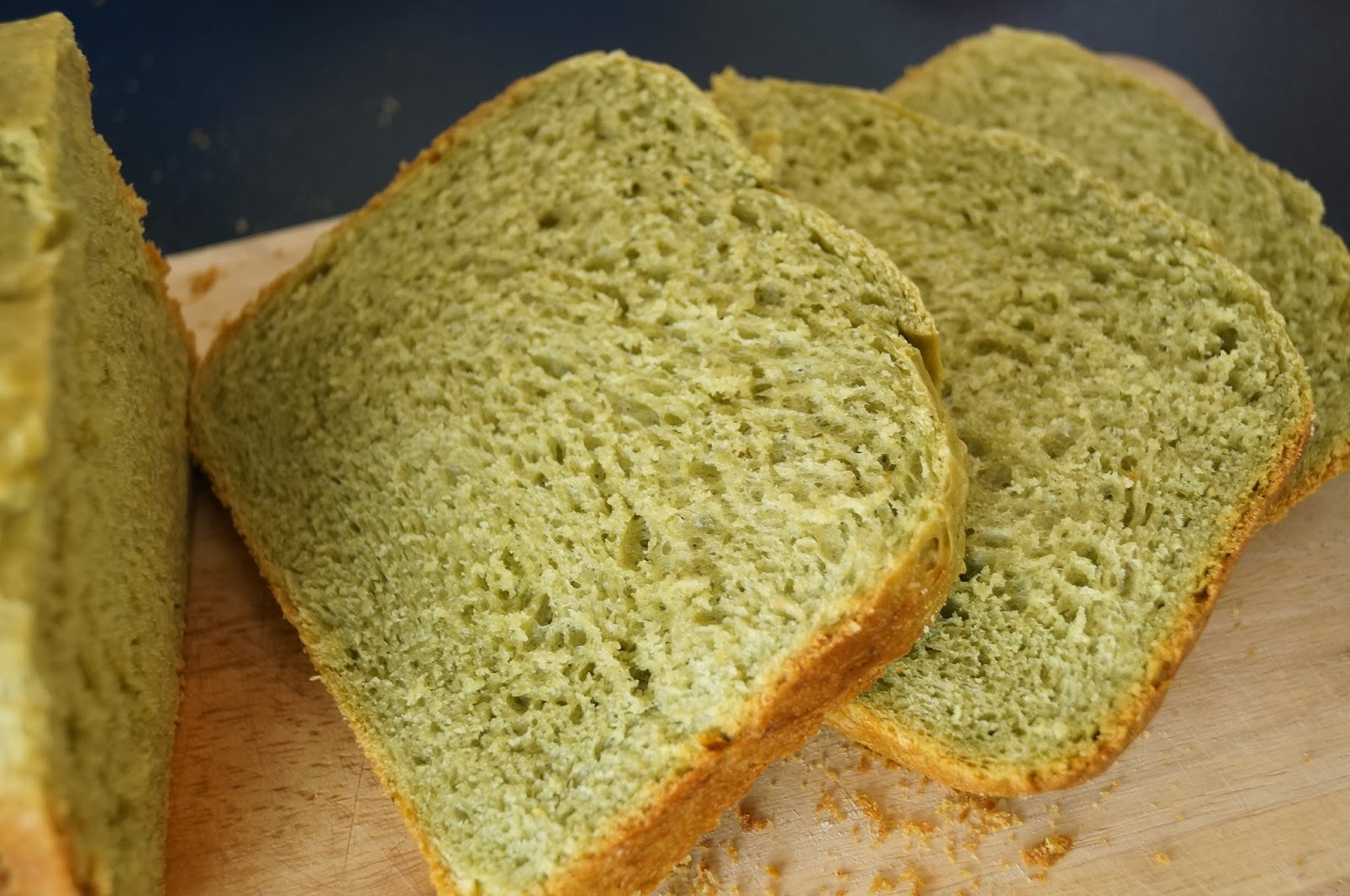 Journal of a nutritionist mom : Japanese green tea loaf ...