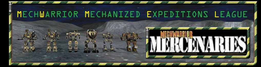 MechWarrior Mechanized Expeditions League