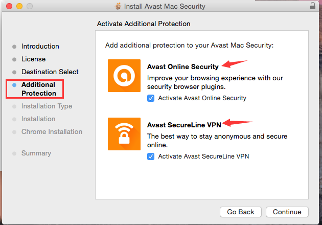 avast mac install