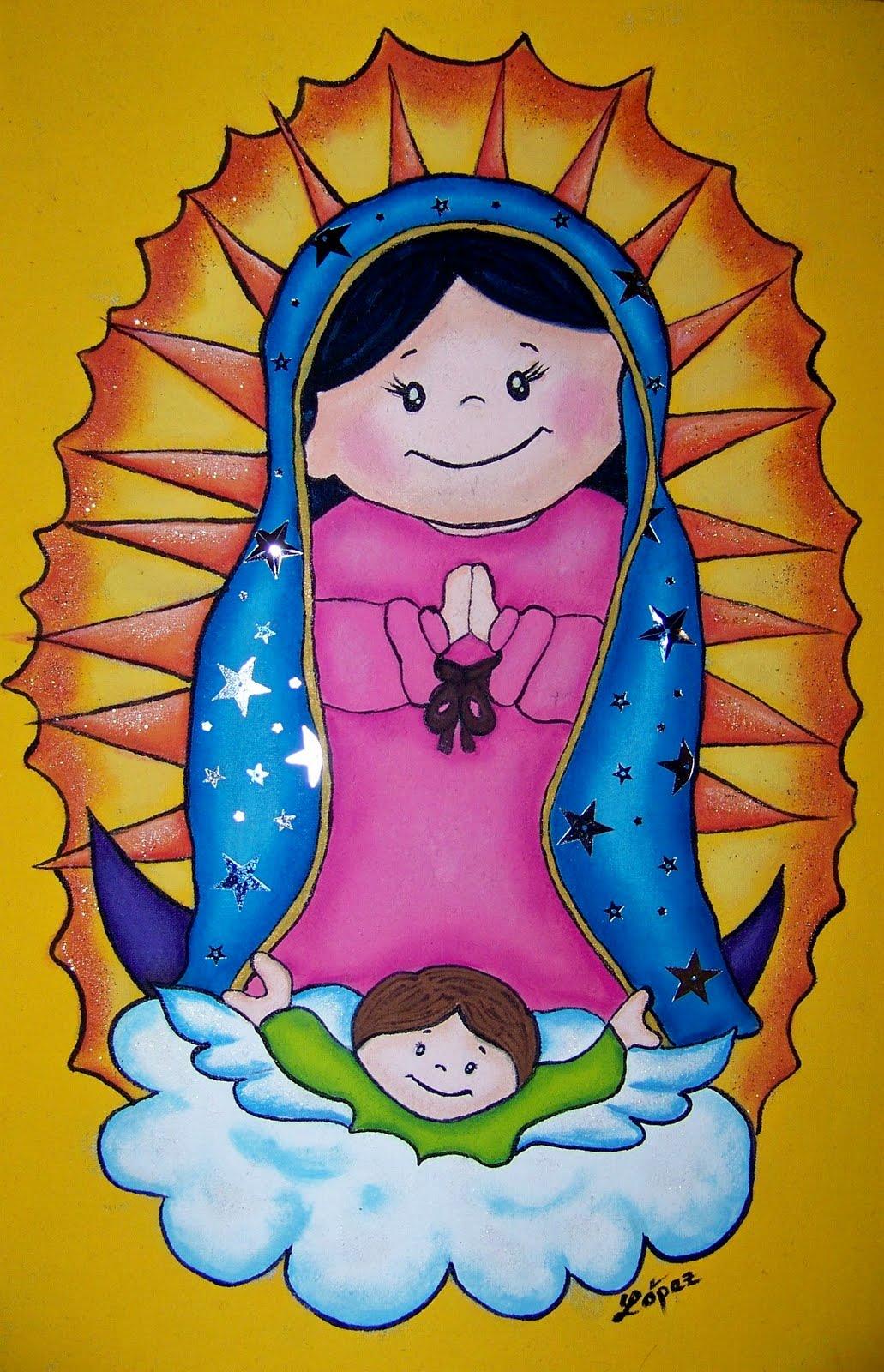 La virgen de guadalupe no hace milagros, ni los santos ni