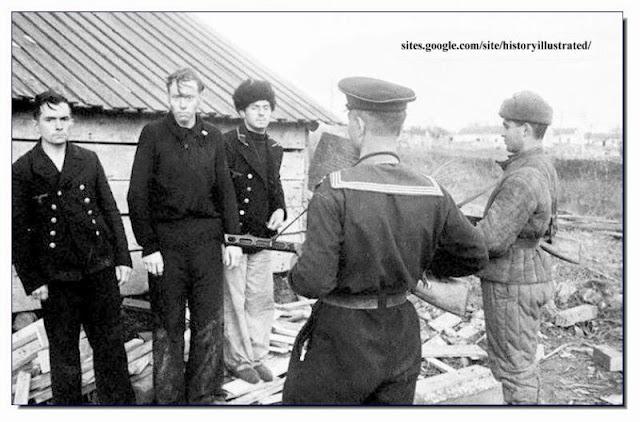 Captured German POW  Crimea. 1944
