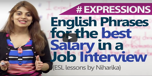 Phrases to get the best salary in a job interview