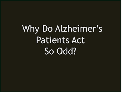 Alzheimers Caregiver Why are the Little Things Bothering You