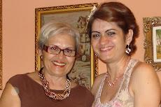 Fátima minha esposa e Méleri,filha