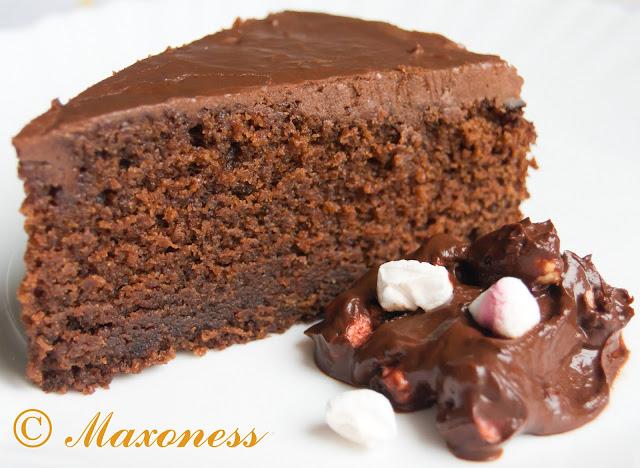 Шоколадный торт с колой от Джеймса Мартина