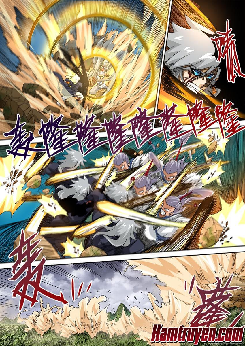 Quyền Bá Thiên Hạ - Chap 131.12