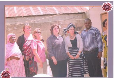 Annie Coons of USA Senate Official Visit to IDS Community Skills Acquisition Centre on the 2/06/11