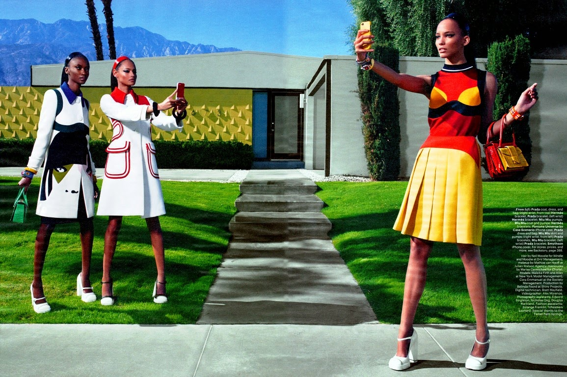 Malaika Firth, Cora Emanuel, Riley HQ Pictures W US Magazine Photoshoot March 2014