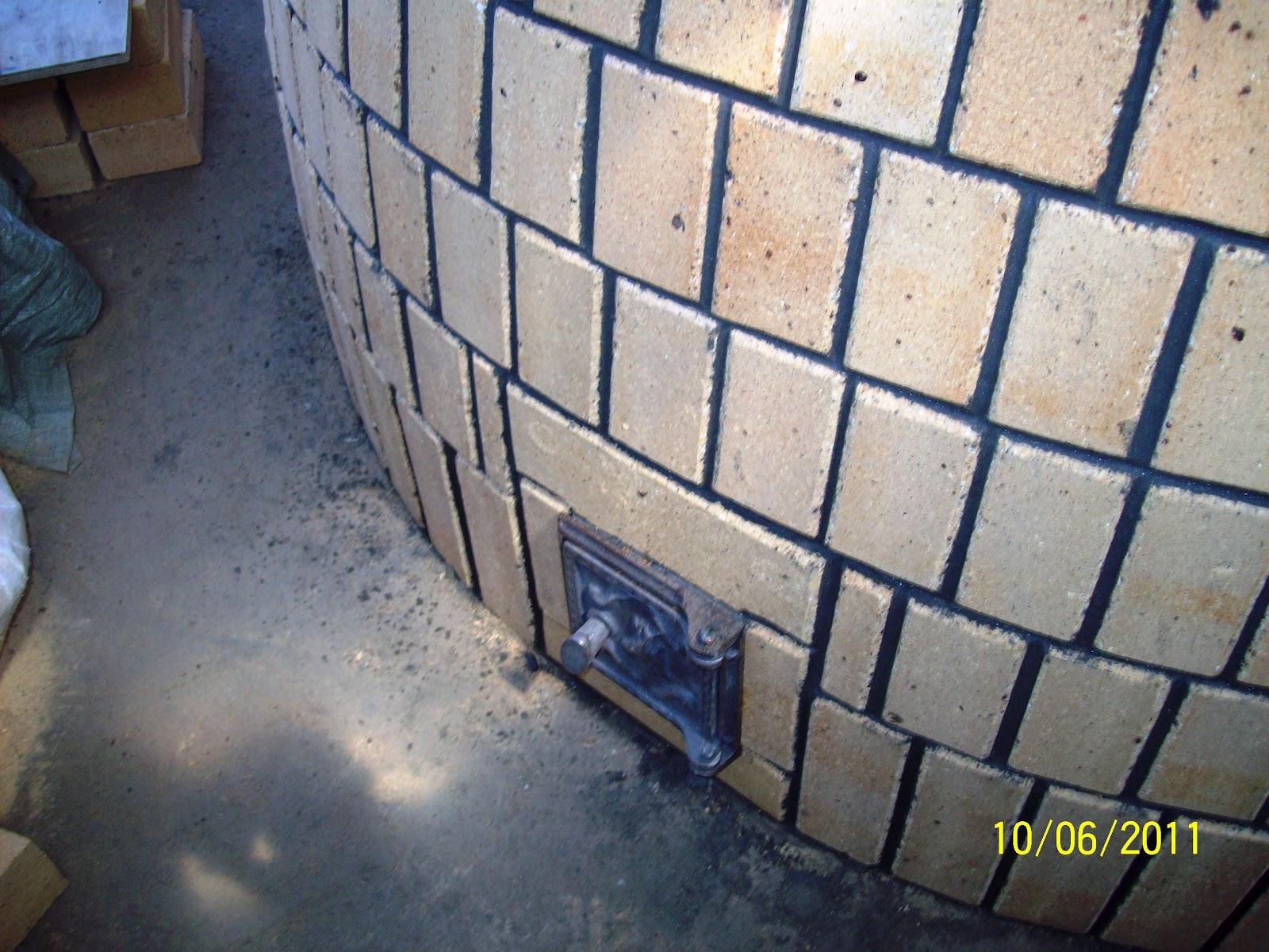 Тандыр своими руками из строительного кирпича 39