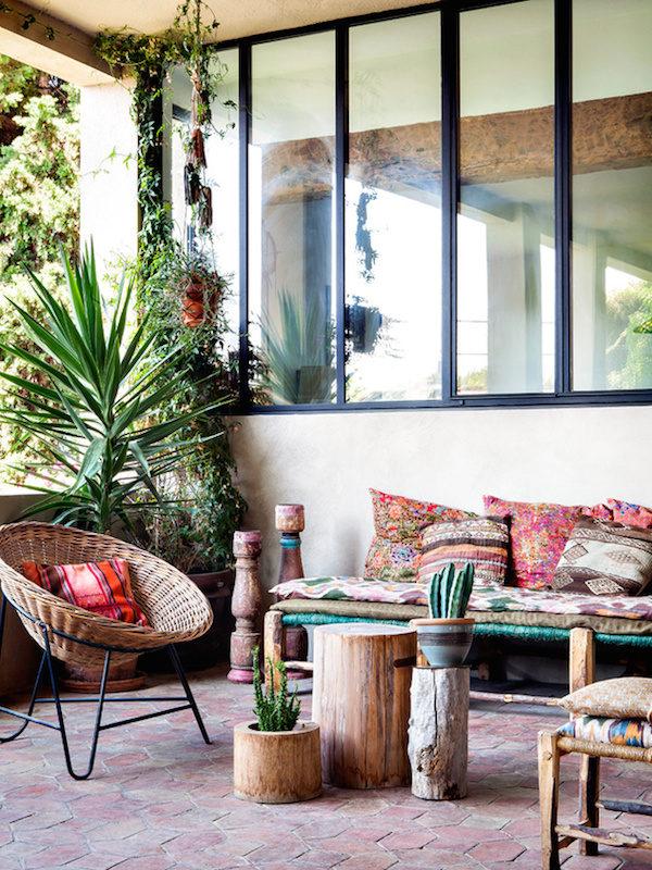 Bohemian terrace