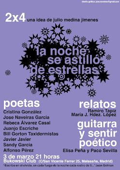 Recital de poesía 2x4