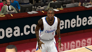 NBA 2K13 Jamal Crawford Cyber Face Mod