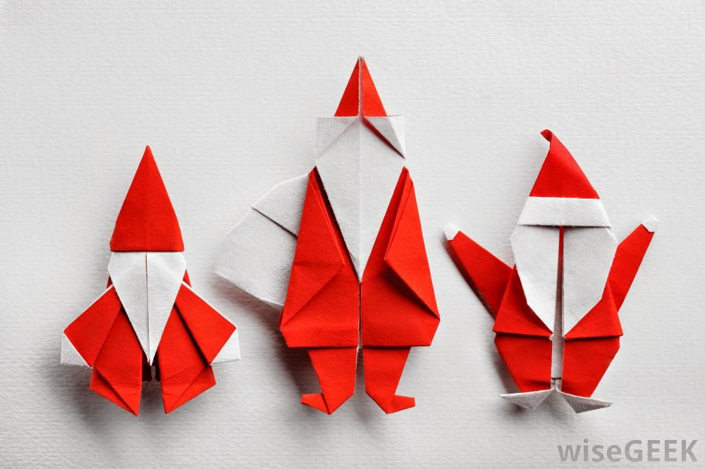 christmas origami for kids