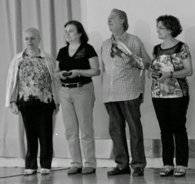 Maria Teresa Galan Buscató, Montserrat Lloret Perxachs, Carles Ferran i Mercè Bellfort