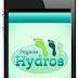Pegada Hydros - Aplicativo para Android e iPhone