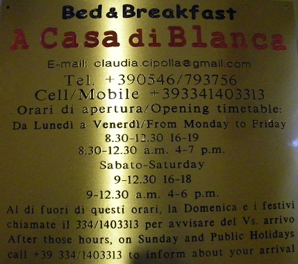 Bed & Breakfast A Casa di Blanca
