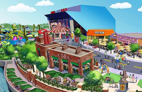 Springfield Simpsons Parque Orlando