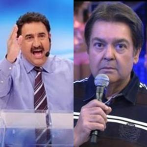 Ratinho acusa Faustão de copiar quadros do seu programa