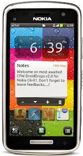 Nokia C6-01 RM-601|RM-718 DroidDrops v2.0(111.040.15) by RokingVinu (18-8-2013)