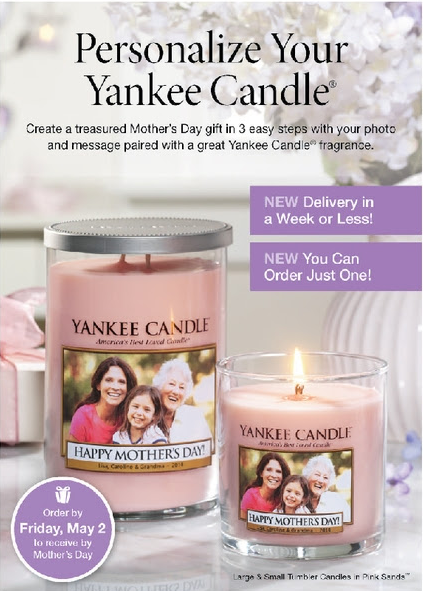 frugal fort wayne yankee candle personalized candles for. Black Bedroom Furniture Sets. Home Design Ideas