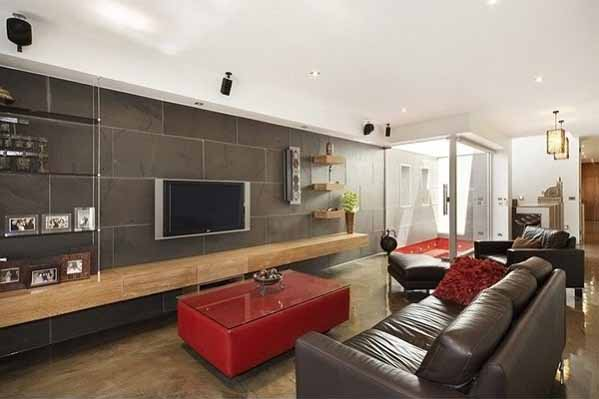 Desain Interior Rumah Minimalis, ruang keluarga dan santai