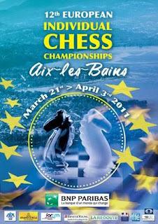 Les Championnats d'Europe d'échecs à Aix-les-Bains