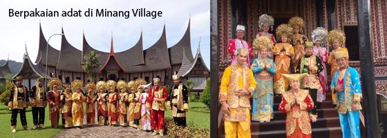 sewa pakaian adat minangkabau di minang village