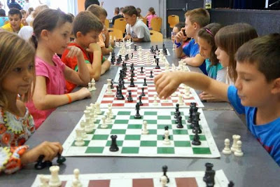 Initiation au jeu d'échecs pour 225 élèves des écoles d'Agde © capechecs