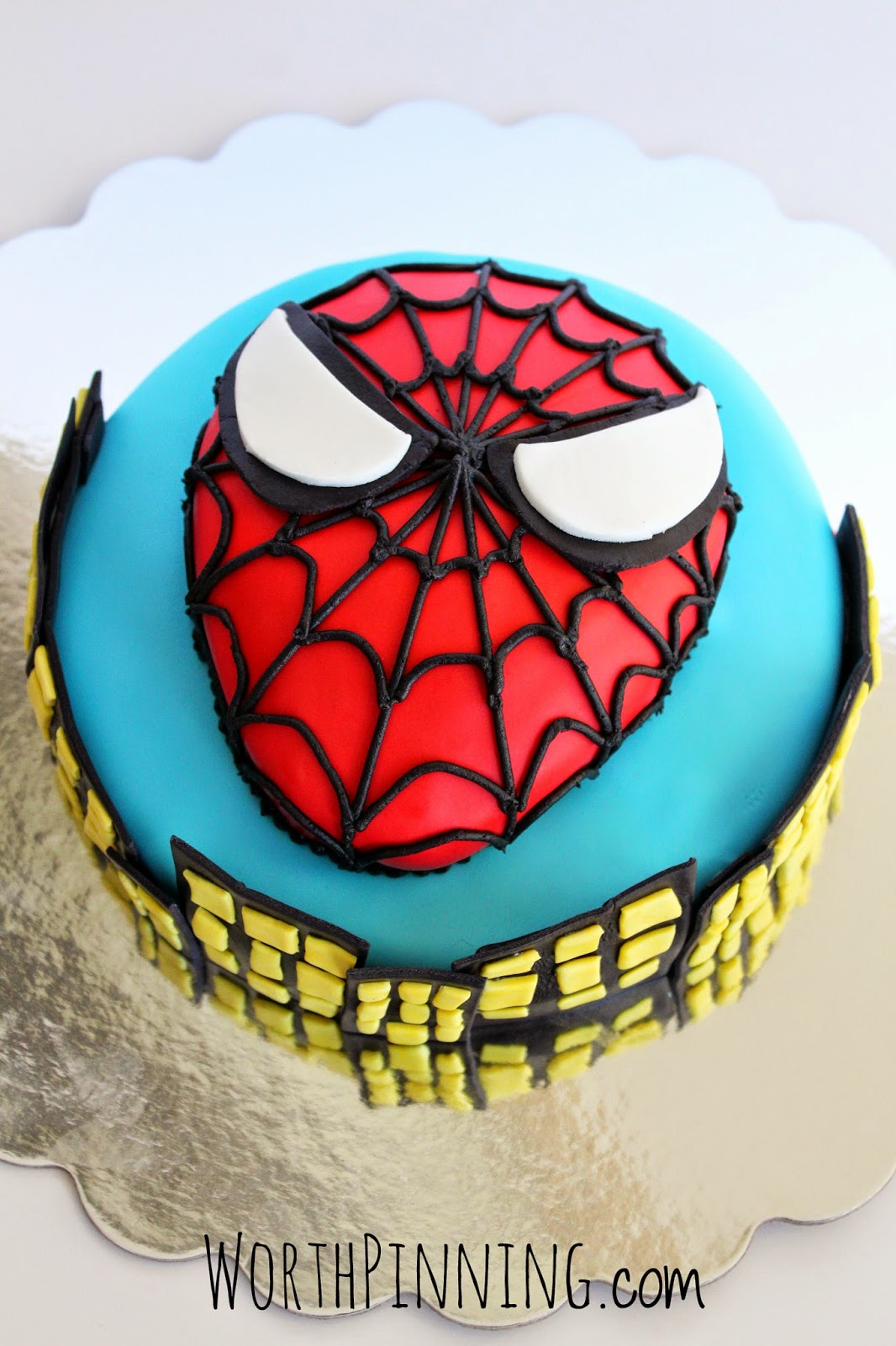 Worth Pinning An Amazing 7 Year Old Boy Spider Man Cake
