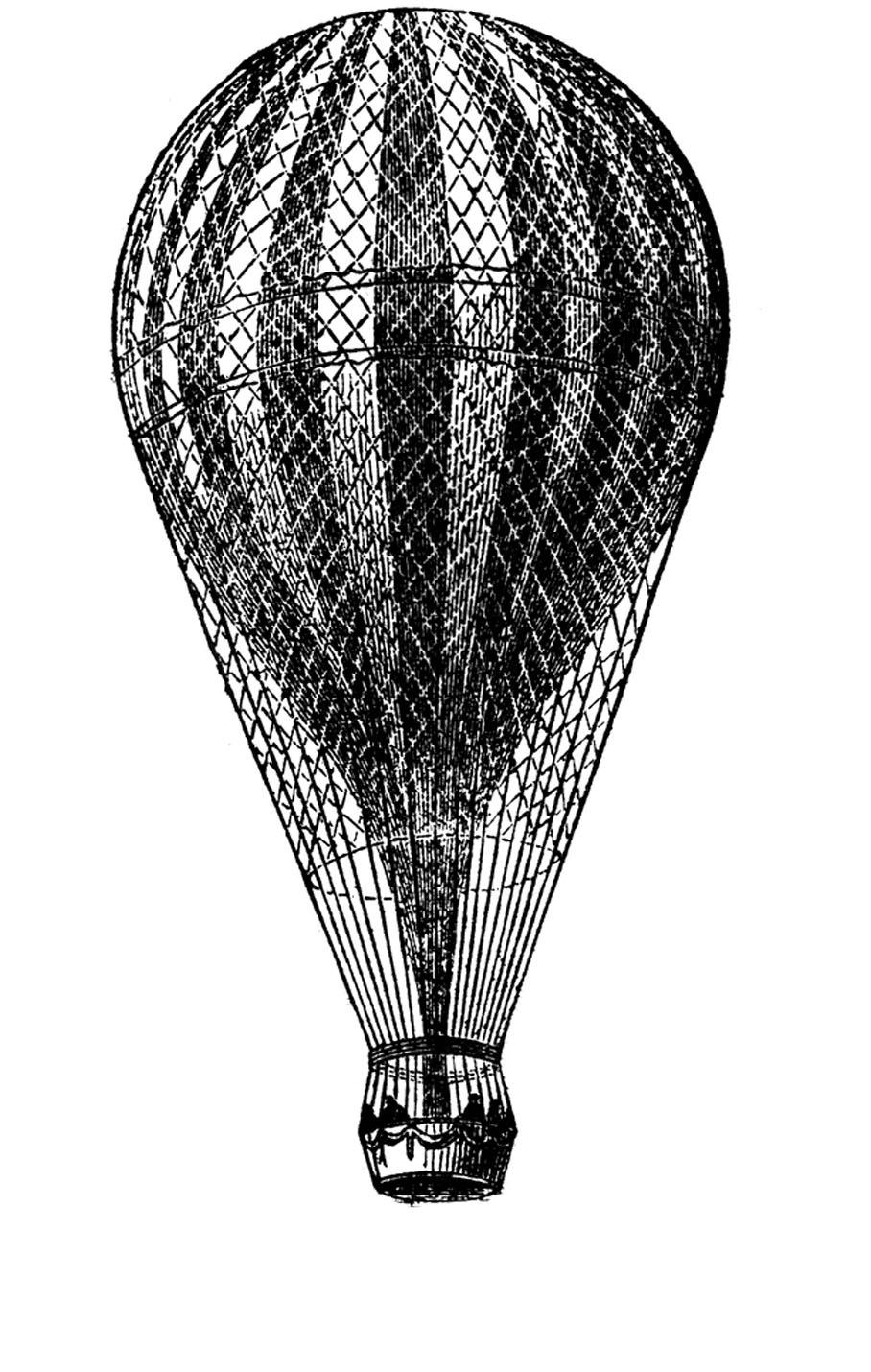 Vintage Hot Air Balloon – Craftbnb