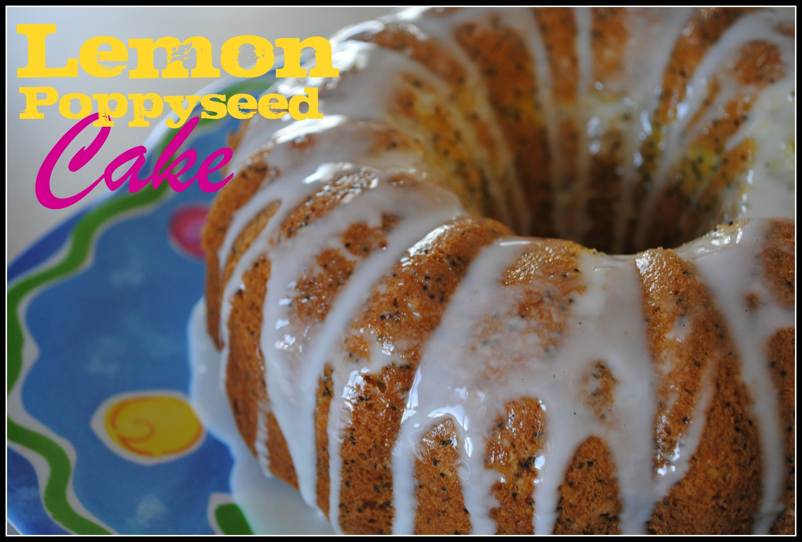 don't know why, but something about this Lemon Poppyseed Cake just ...
