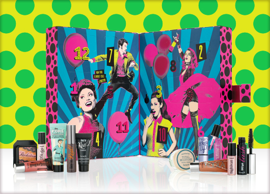 Benefit Party Poppers Beauty Advent Calendar 2015