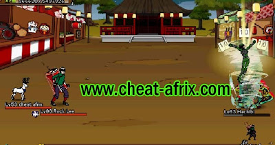 Cheat 4th Anniversary Battle Free Pet Chick Ninja Saga 2013