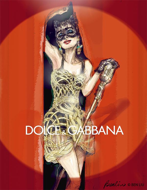 Dolce & Gabbana Audrey Hepburn Catwoman