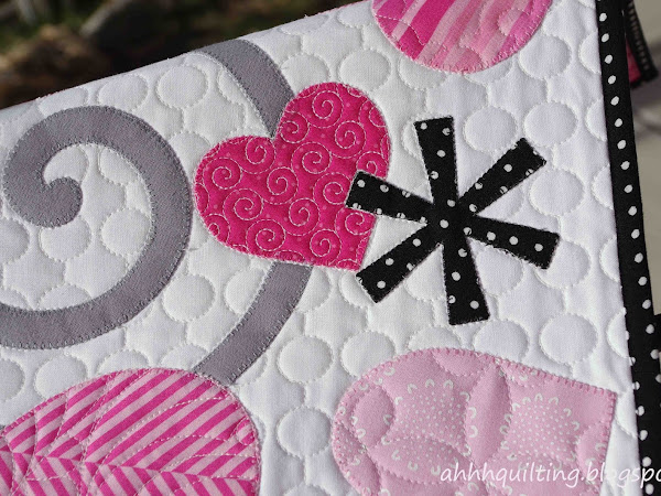 Valentine's Table Runner Quilt