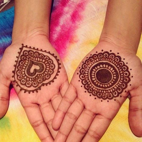 One Flower Mehndi : Flower mehndi designs indian for