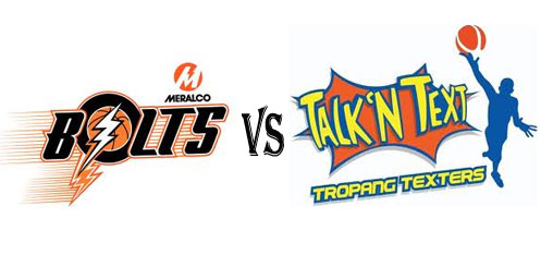 Watch Meralco Bolts vs Talk N Text Live Stream