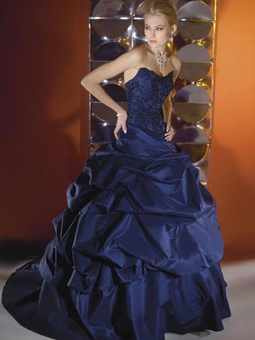 Dark blue and navy blue wedding dress designs wedding dress for Navy blue dresses for wedding