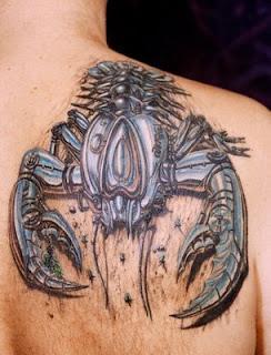 fotos de Tatuagens de Escorpião