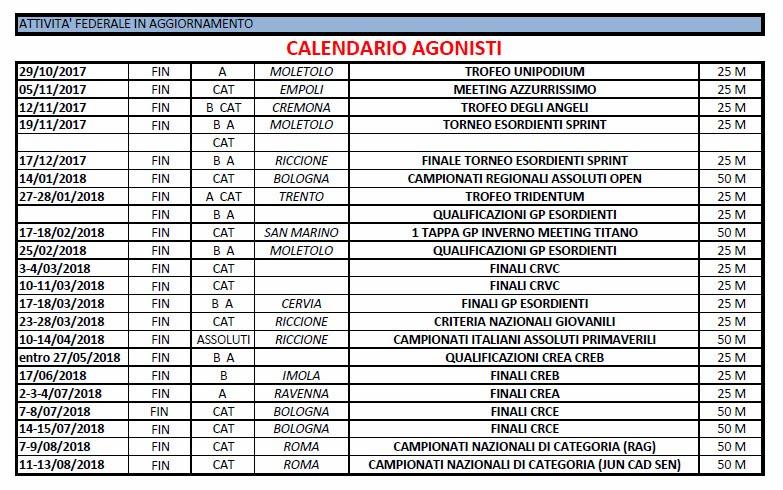 CALENDARIO FIN