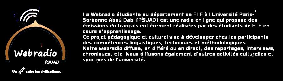 Webradio FLE-PSUAD