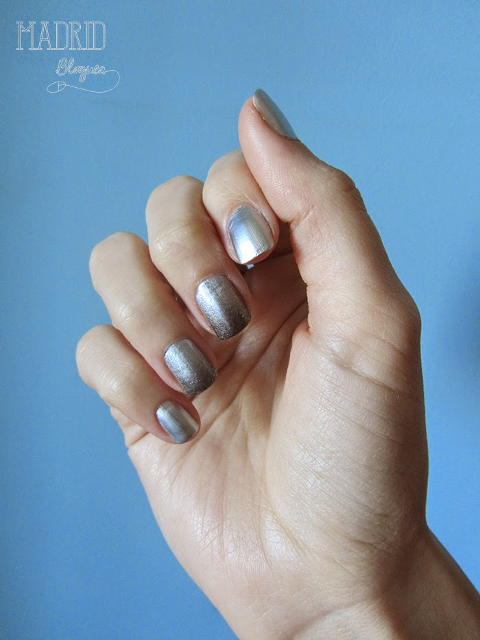 Nail Art festivo para fin de año